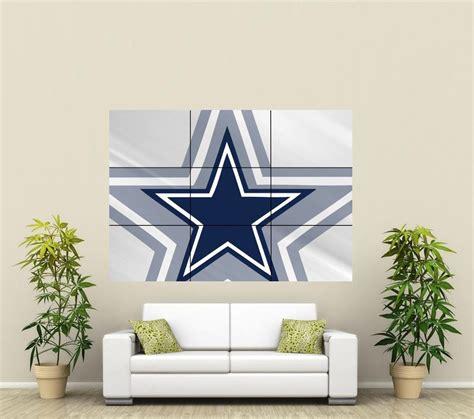 Dallas Cowboy Decorations by Dallas Cowboys Wall Poster Nfl111 Ebay Home