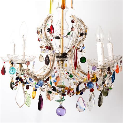Chandeliers Co Uk by Multi Coloured The Vintage Chandelier Company