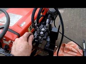 Tapped Into The Hydraulics Of The Kubota B7000 And