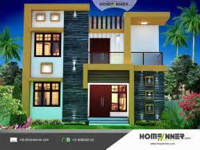 Home Design House Contemporary Style 1674 Sqft Economic House Plan Design