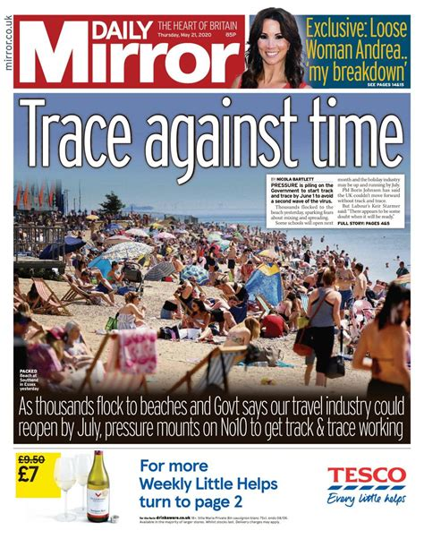Daily Mirror-May 21, 2020 Newspaper - Get your Digital ...