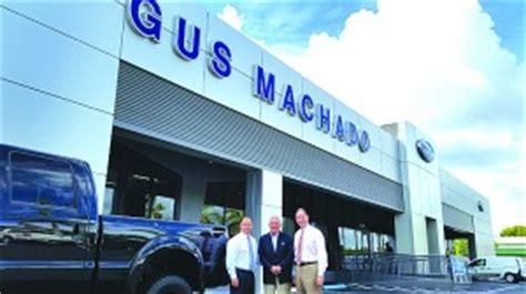 gus machado ford dealership undergoes  renovation