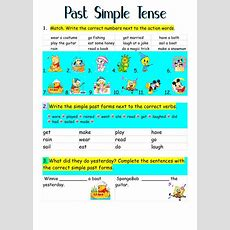 Past Simple Tense Past Simple Online Worksheet