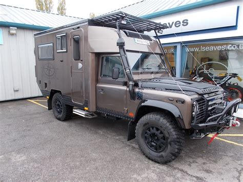 defender  camper expedition vehicle england