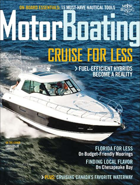 Boating Magazine Boat Tests by Boat Motor Magazine 171 All Boats