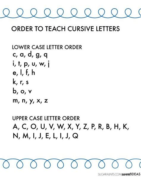 25+ Best Ideas About Teaching Cursive Writing On Pinterest  Cursive Handwriting, Writing
