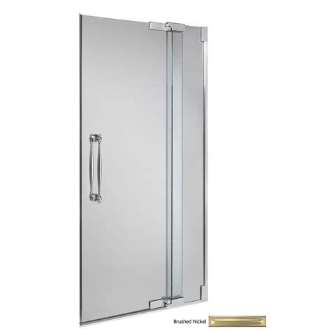 shop kohler frameless pivot shower door  lowescom