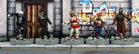 cold war zombies miniatures undead