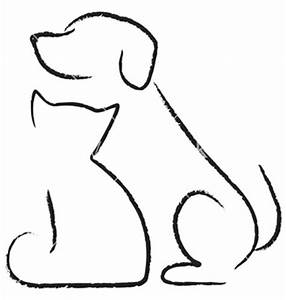 chiens et chats dessins chien fourmi chat icône vector ...
