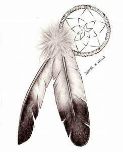 dreamcatcher and eagle feather tattoo by denise a wells ...