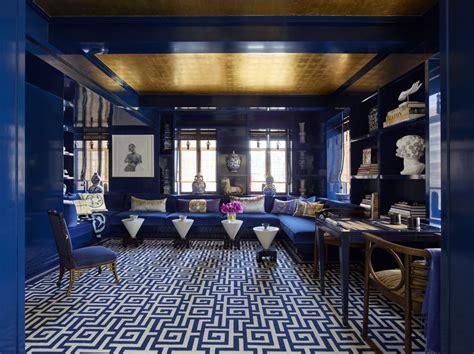 park avenue apartment bold interior decor  kelly behun
