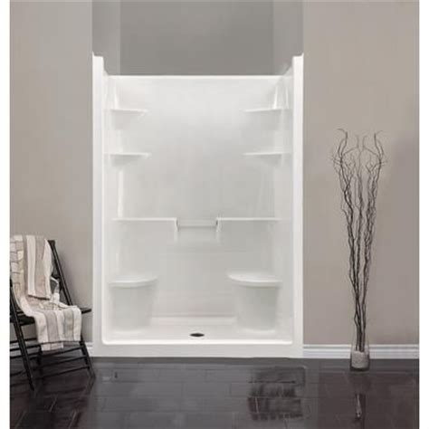 5 Foot Fiberglass Shower what length shower curtain and liner for 5 ft stall shower