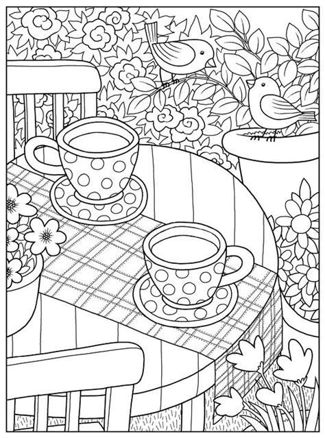 inkspirations inthegarden coffee   garden