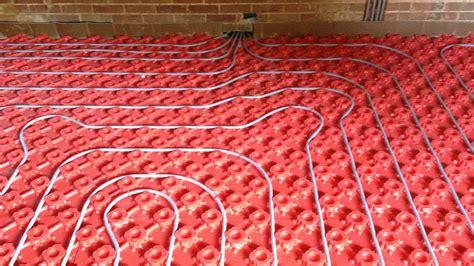 modern floor covering underfloor heating grant
