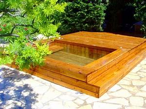 Mini Piscine Enterrée : photos de petites piscines en bois sans liner odyssea piscines ~ Preciouscoupons.com Idées de Décoration