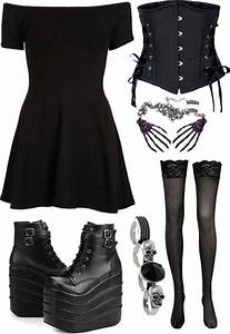 17 Best images about Gothic Dresses u0026 Skirts Sweet To Sexy. on Pinterest | Blonde goth Goth ...