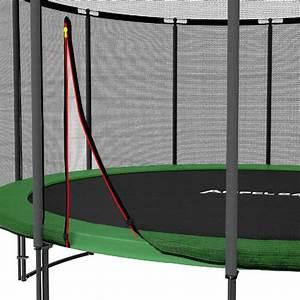 Filet De Sécurité : filet s curit deluxe 12 piquets trampoline diam 490 cm ~ Melissatoandfro.com Idées de Décoration