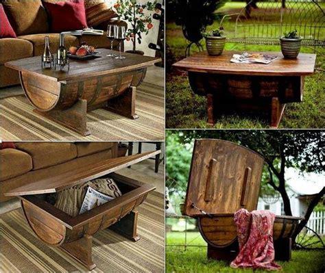 diy barrel coffee table tips      find