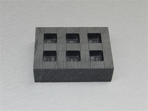 graphite ingot mold   silver rectbar casting casting moldcast melting refining metal scrap
