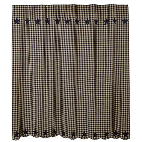 black and gingham shower curtain avenue of oaks