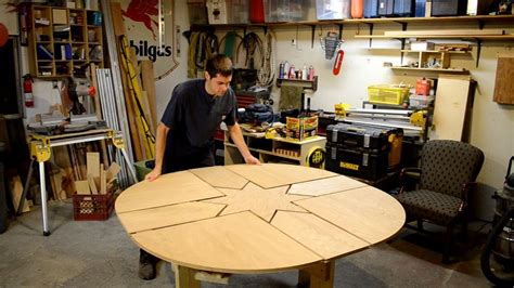 wooden expanding table youtube
