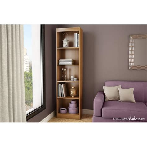 5 Shelf Bookcase by South Shore Axess 5 Shelf Bookcase In Cherry