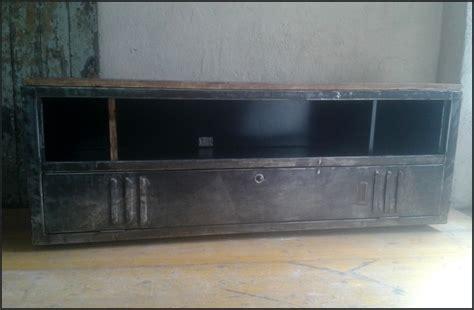 meuble tv industriel vintage le blog de la salamandre