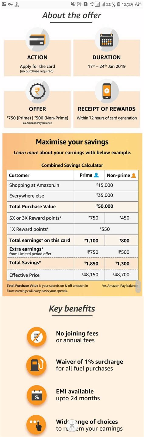 We did not find results for: Apply for Amazon Pay ICICI Credit Card & Get 750₹ as Amazon Paybalance ( Available for Selected ...