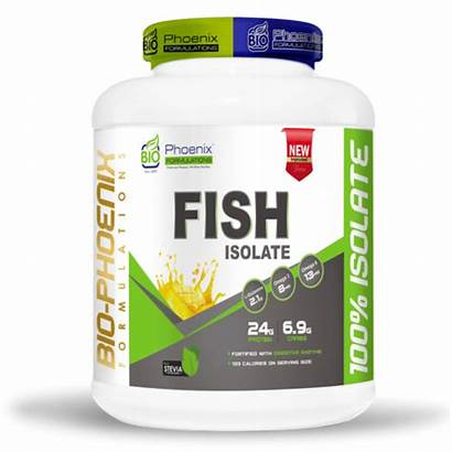 Protein Fish Powder Isolate Packaging Type Bottle