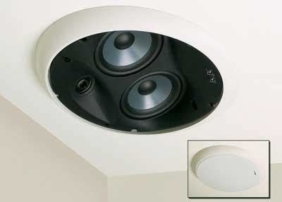 new product polk audio lci rts100 in ceiling speaker