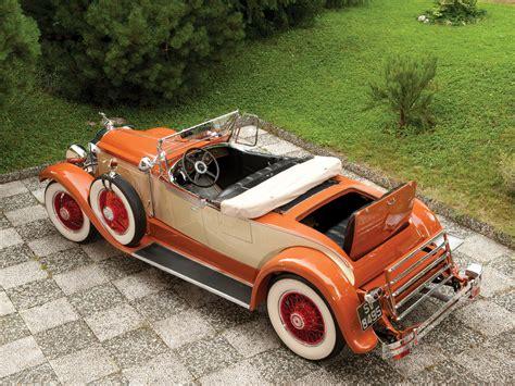 1929 Packard Custom Eight Roadster 640-342 luxury retro d ...