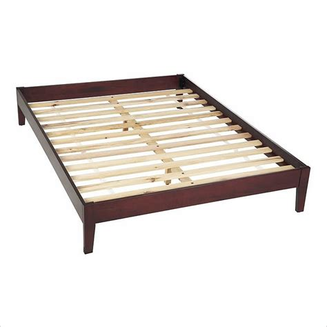 platform bed frame modus newport simple tropical mahogany modern platform