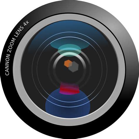 Onlinelabels Clip Art  Camera Lens