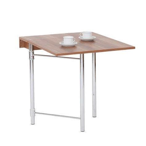 table murale pliante cuisine hoffmann sumatra table pliante murale noyer