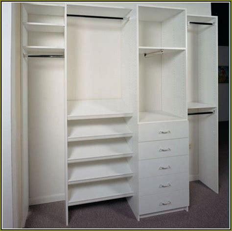 Single Door Closet Organization Ideas by Reach In Closet Organizers Do It Yourself Best Home