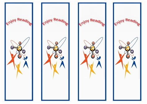 science bookmarks birthday printable