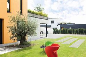 amenagement de jardin contemporain color block marlux With amenagement de jardin contemporain