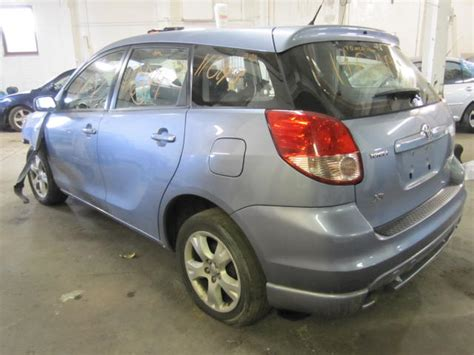 Toyota Matrix Parts by Parting Out 2003 Toyota Matrix Stock 110149 Tom S