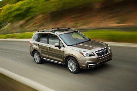 brown subaru forester 2017 subaru forester priced from 23 470 automobile magazine