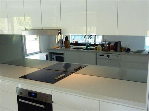 what color for kitchen charcoal mirror splashback search kitchen 7034