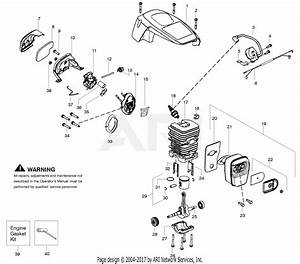 Poulan Pp3416 Gas Chain Saw  966063001  Parts Diagram For