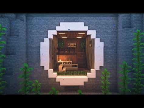 minecraft   build  underwater mountain house