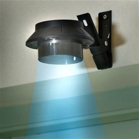solar powered clip on gutter light
