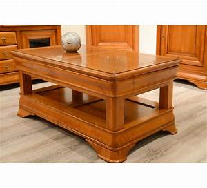 Table Basse Occasion : table basse merisier massif ~ Teatrodelosmanantiales.com Idées de Décoration