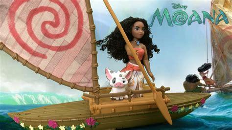 Hasbro Moana Boat by Disney Moana Starlight Canoe Friends From Hasbro