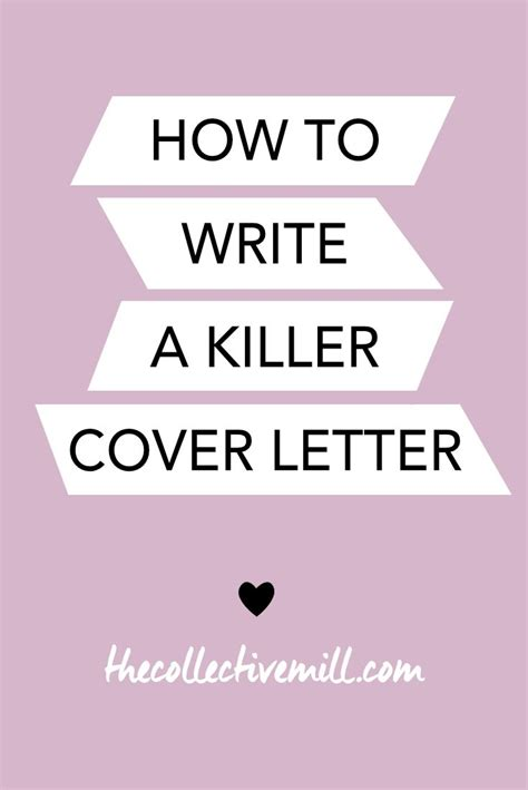 write  killer cover letter purpose  ojays