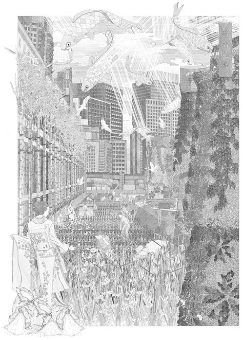 Intricate Drawings By Bartlett School Of Architecture
