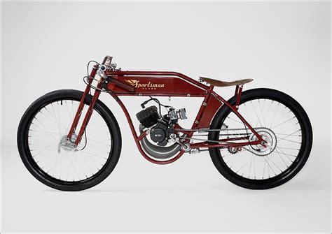 Cafes, Motorised Bike And