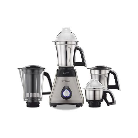 mixer grinder preethi 750 supreme mixie steele jar amazon appliances india mg steel grinders kitchen watts watt 750w silver coimbatore