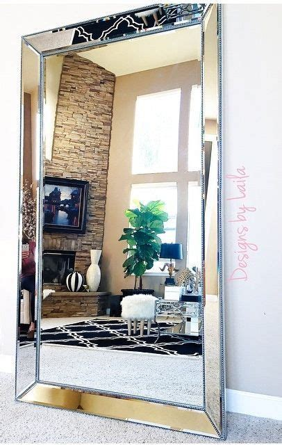 Large Living Room Mirrors by Designsbylaila Showcases Our Stunning Omni Leaner Mirror